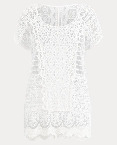 Crocheted Lace Cover-Up
