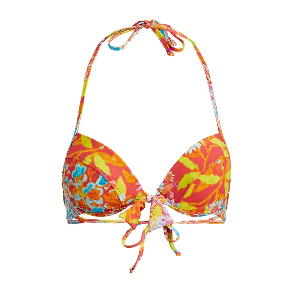 Ralph Lauren Floral Underwire Bikini Top Multi Xs