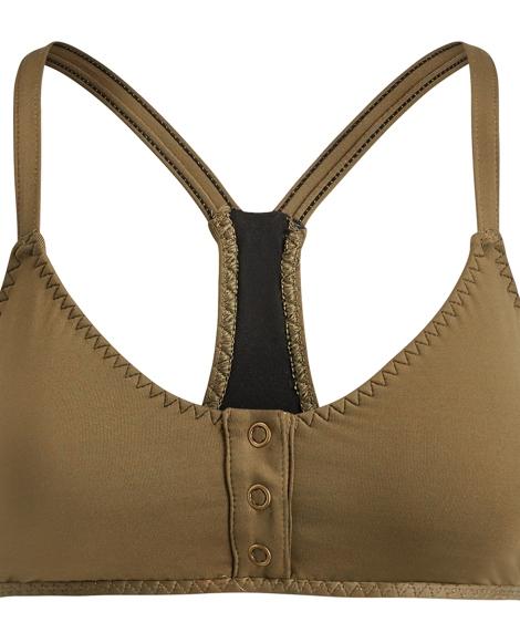 Snap-Front Bikini Top