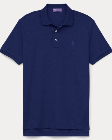 Custom Slim Fit Piqué Polo