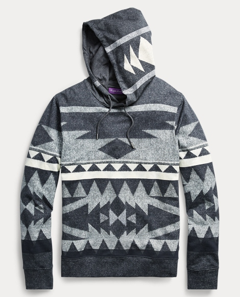 Stretch-Cotton-Fleece Hoodie