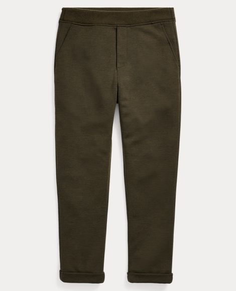 Double-Knit Track Pant
