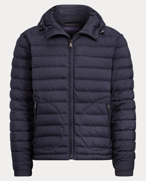 Barton Hooded Down Jacket