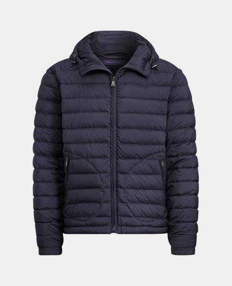 Barton Hooded Down Jacket