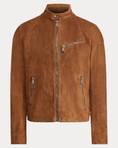Randall Suede Biker Jacket