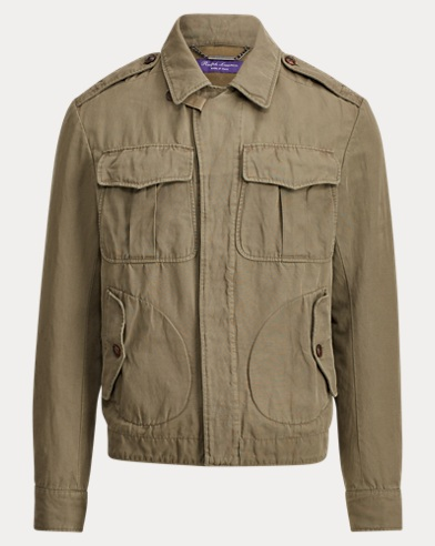 Malden Cotton-Linen Jacket