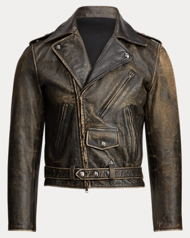 Locklear Leather Moto Jacket