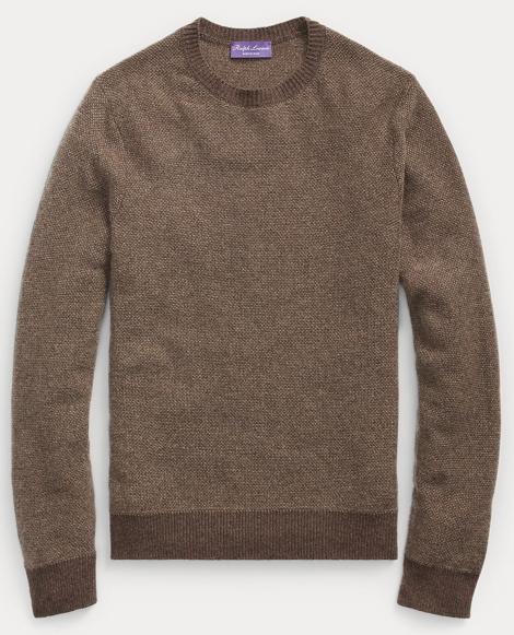 Birdseye Cashmere Sweater