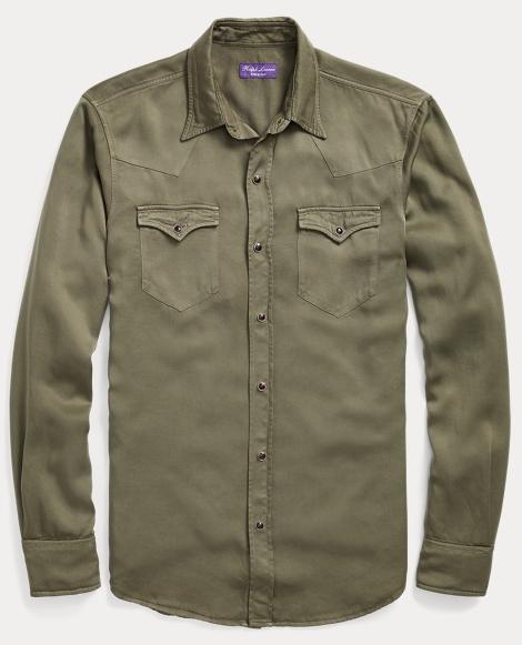 Twill Western Shirt