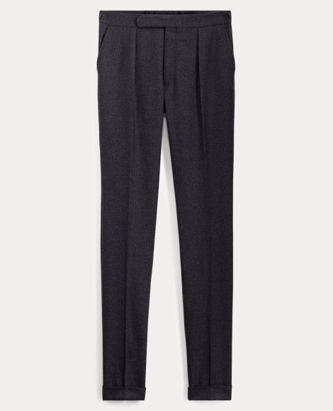 Wool-Cashmere-Twill Trouser