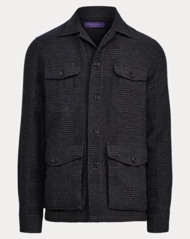 Patchwork Cashmere-Silk Jacket
