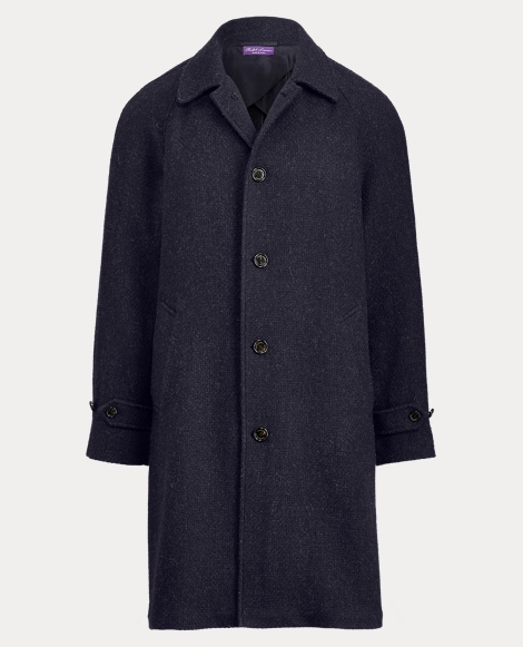 Merino Wool-Blend Topcoat