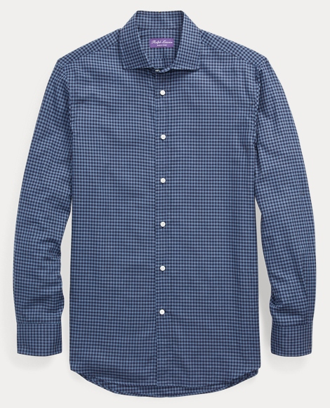 Gingham Cotton Dress Shirt