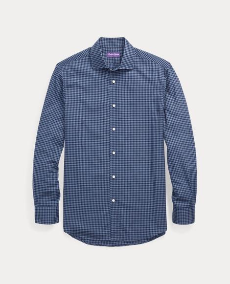 Gingham Cotton Dress Shirt