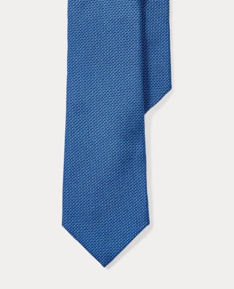 Print Silk Crepe Narrow Tie