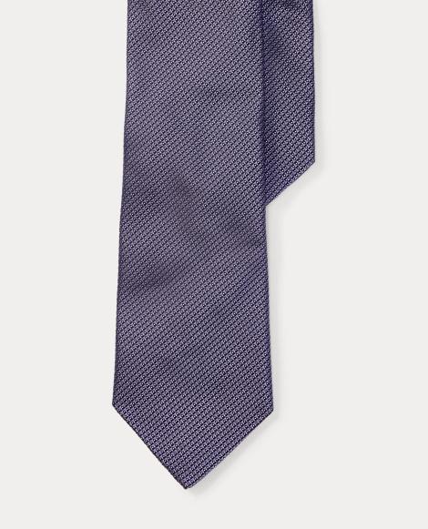 Silk Jacquard Narrow Tie