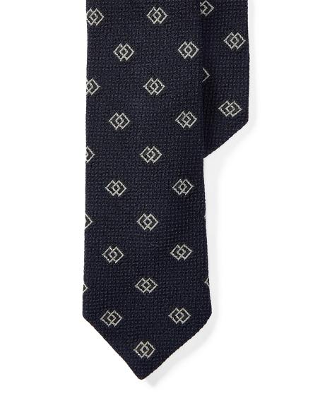 Diamond Silk Narrow Tie