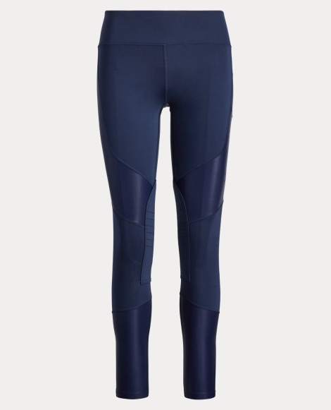 Paneled Stretch Jersey Legging