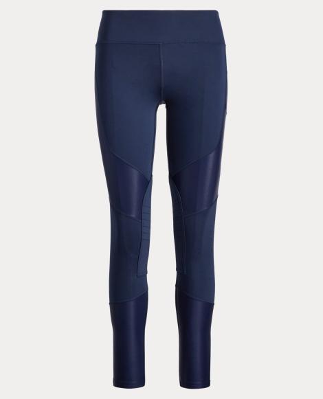 Paneled Stretch Jersey Legging