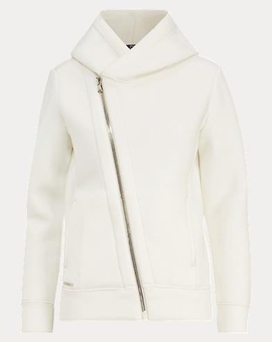 Asymmetrical Full-Zip Hoodie