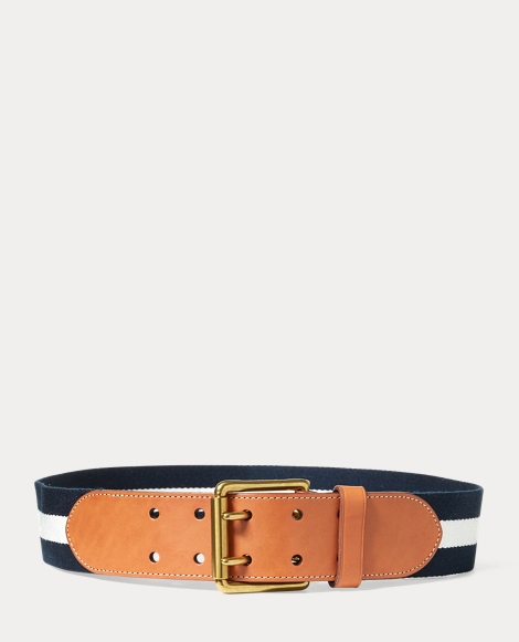 Double-Prong Webbed Belt