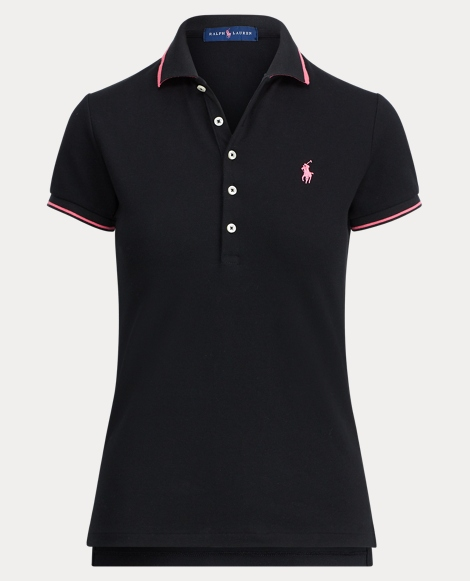 Pink Pony Slim Fit Polo Shirt