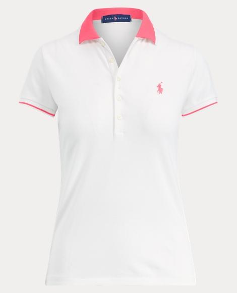 Pink Pony Slim Fit Polo Shirt