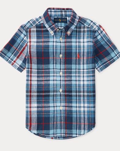 Linen/Cotton Ss Bd Shirt