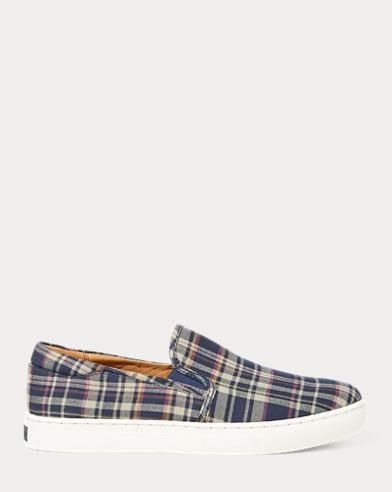 Drea Madras Slip-On Sneaker