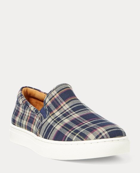 Drea Madras Slip-On Sneaker