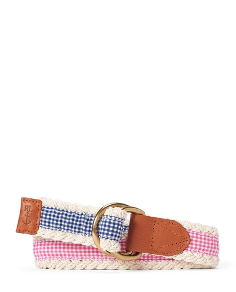 Reversible Gingham Belt
