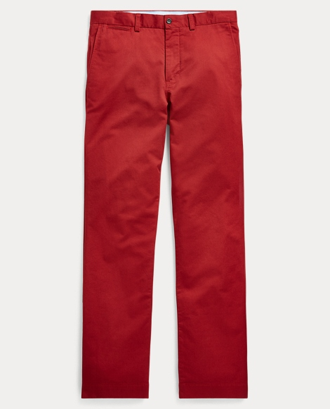 Stretch Slim Fit Cotton Chino