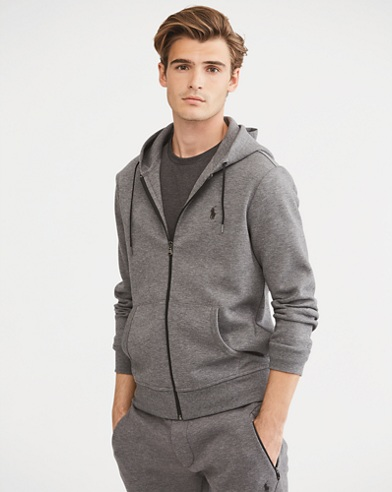 Double-Knit Full-Zip Hoodie