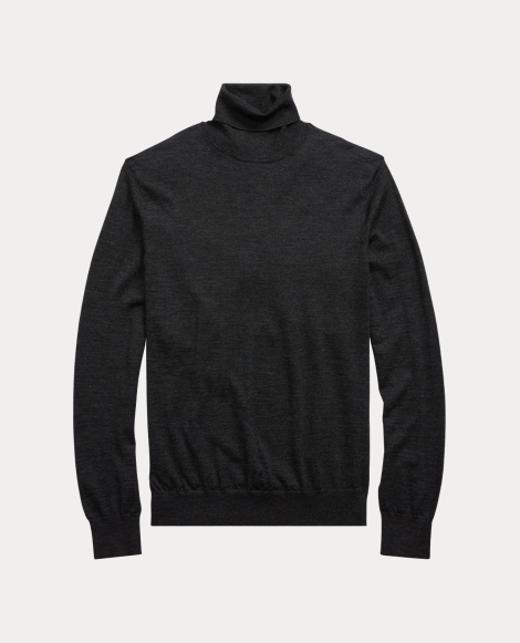 Washable Merino Turtleneck