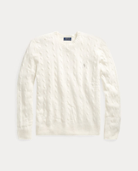 Cable Merino-Cashmere Sweater