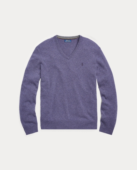 Merino Wool V-Neck Sweater
