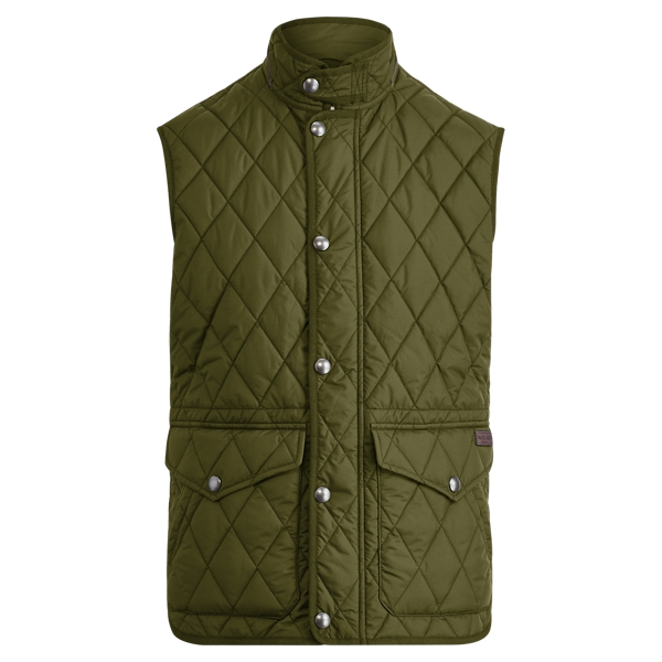 Ralph Lauren The Iconic Quilted Vest Fall Loden M