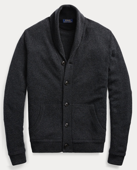 Merino Wool Shawl Cardigan