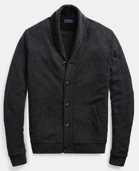 Merino Wool Shawl Cardigan