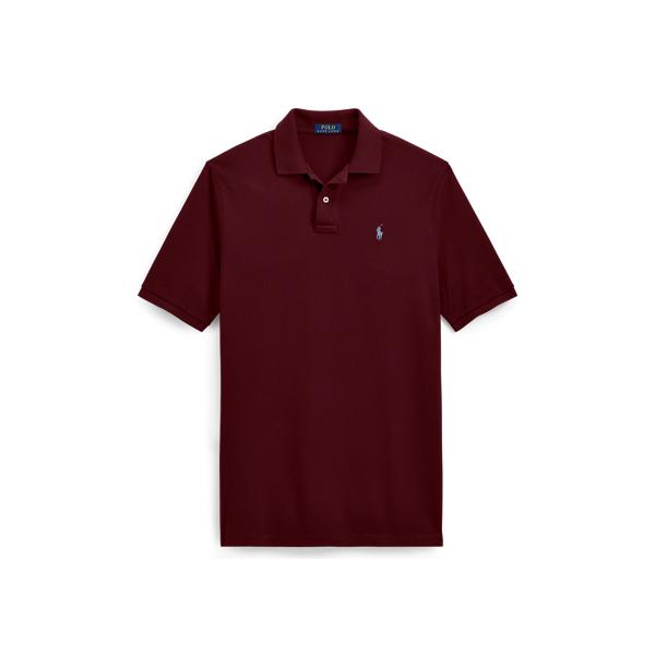 Ralph Lauren Custom Slim Fit Mesh Polo Fall Burgundy Xs