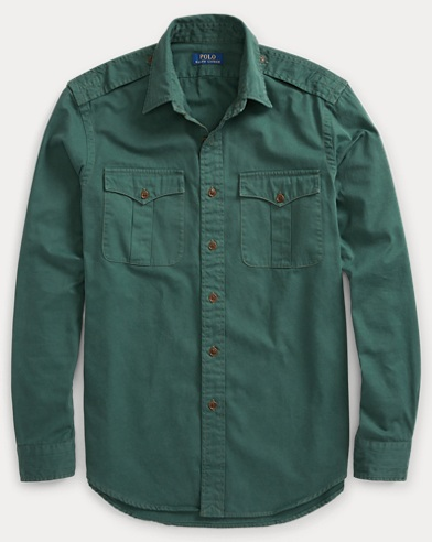 The Iconic Military Shirt