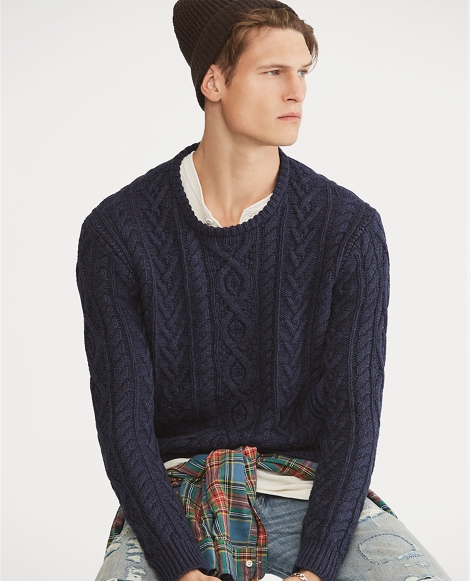 The Iconic Fisherman's Sweater