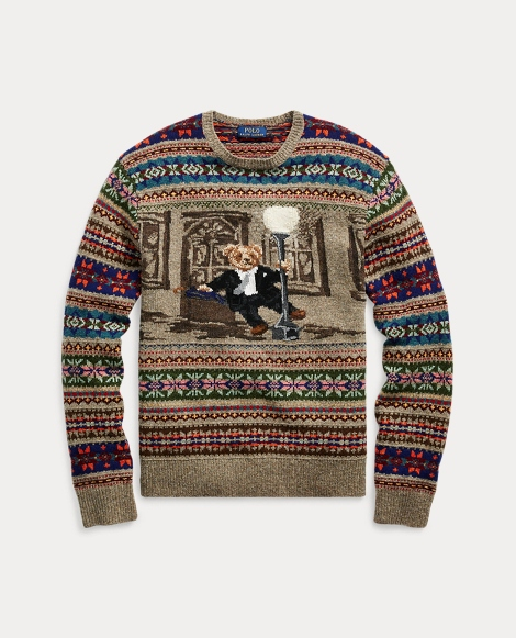 The Iconic Bear Isle Sweater