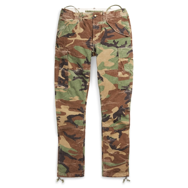 Ralph Lauren Slim Fit Camo Cargo Pant Surplus Camo 32