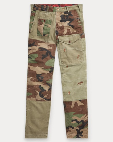 Straight Fit Cotton Cargo Pant