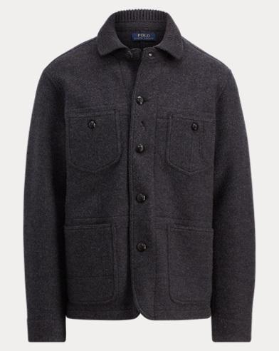 Merino Wool Chore Jacket