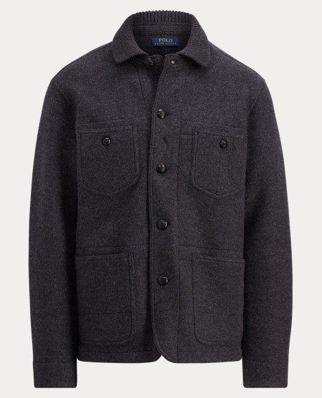 Merino Wool Chore Jacket