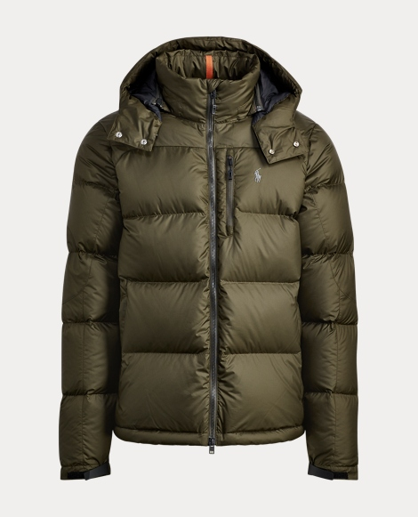 Quilted Ripstop Down Jacket