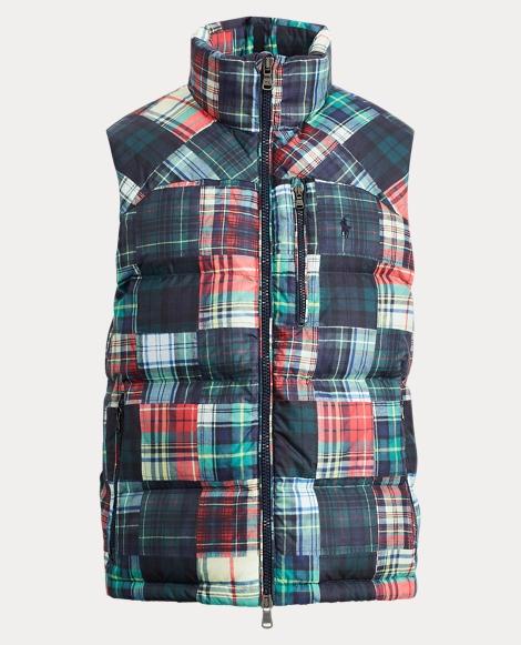 Water-Repellent Down Vest