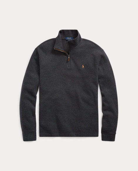 Estate-Rib Half-Zip Pullover
